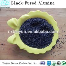 Polvo del óxido de aluminio del negro del 95% de la pureza del precio de fábrica del primer grado