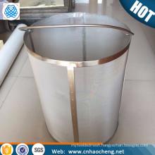 300 micron stainless steel hop spider / cornelius filter keg / mesh hop filter kegs