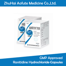 GMP Approved Ranitidine Hydrochloride Capsules