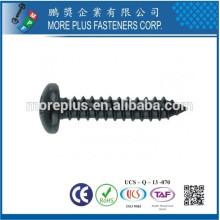 Hecho en Taiwán M3.5x16 Galvanizado Cruz cabeza ranurada Harden Tornillos Auto Tapping