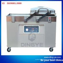 Máquina de envasado de vacío de alimentos de doble cámara (DZQ400-2SB)