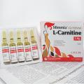 Promueve la energía y el metabolismo de las grasas, fisicoculturismo, inyección de L-carnitina en el gimnasio