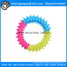 Round Shape with Four Color TPR Toy for Dog Chewing