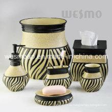 Medio Oriente estilo Polyresin accesorios de baño conjunto (WBP1126A)