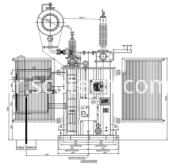 15mva transformer drawing