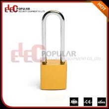 Elecpopular Productos de importación baratos Long Shackle Colorido Aluminio Body Candado