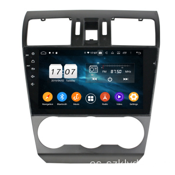 Octa core car entertainment para Forester / XV 2013