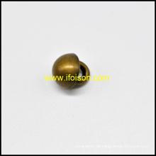 Schaft-Metallknopf in Form Kuppel