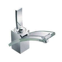Einhebel-Glaswaschtischmischer