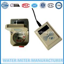 "Medidor de Água Inteligente pré-pago ""1/2"" RF Card"