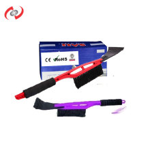 2-in-1 45 CM Long Handle Soft Handle Brush With A Ice Scraper Car Detailing Car Cleaning Kit