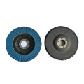 Metal Grinding Calcined Aluminum Oxide Flap Disc