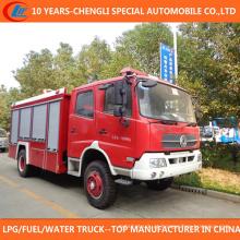 4X2 China Fornecedor Marca 7000 Litros Caminhão de Bombeiros para Venda