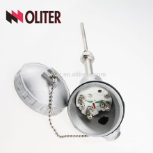 OLITER WZP rtd thermal resistance with ss304 stainless steel probe and waterproof connection box pt100 temperature sensor