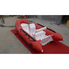 hot boat RIB390 rigid hull inflatable boat with CE