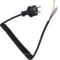 H05BQ-F Coiled Cable European Spiral Power Cord