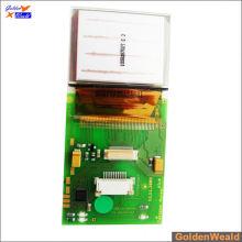 SMT- & DIP-Leiterplattenbestückung mit Schaltern und RGB-LEDs Aluminium-Leiterplattenbestückung