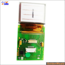 smt & dip pcb assembly with switches and RGB LEDs aluminum pcb assembly