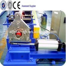 Round Downspout Pipe Making Machine/rain gutter metal downspout cold forming machine