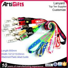 Cordón de transferencia de calor personalizado Artigifts barato sin mínimo a la venta