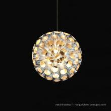 Nouveau lustre rond de maison de conception accrochant l'éclairage de décoration
