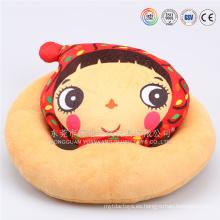 Almohada de la historieta del emoji de la peluche del juguete relleno al por mayor de China