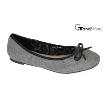 Mode féminine avec Bow Basic Flat Ballet Shoes