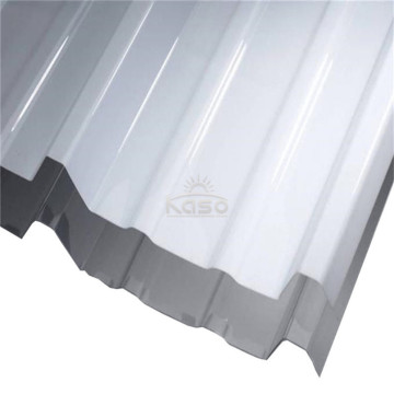 1M Roofing Polycarbonate Transparent Corrugated Sheet