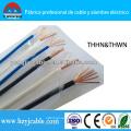 Thhn alambre recubierto de PVC con aislamiento de nylon