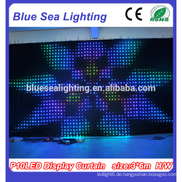 Party Dekoration Flexible LED Vorhang für LED Bildschirm LED Display Vorhang