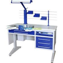 Équipements de laboratoire dentaire (Modèle: Station de travail (unique) AX-JT7) (homologué CE)
