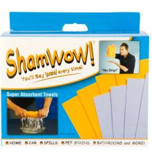Chiffon magique Shamwow sertie de 8PCS Viscose/Polyester