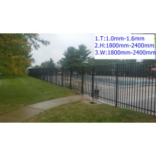 Entertainment protective and decorative fence