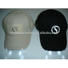 baseball caps with led lights/multi-hats/EL caps