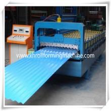 Geschwindigkeit Schritt Roof Tile Wellpappe Fliese Roll Formmaschine