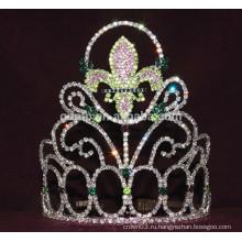 Горный хрусталь диадема с логотипом