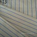 Tejido de popelín de algodón hilado teñido de tela para prendas de vestir camisas/vestido Rls40-2po