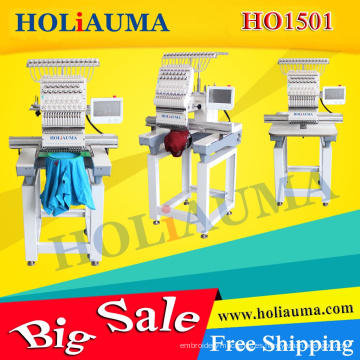 Nuevos 15 colores Holiauma sola cabeza máquina de bordar computarizada