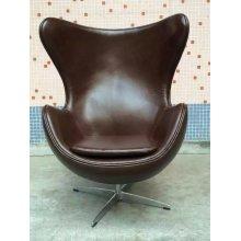 Cadeira de couro cor café, cadeira de mobiliário exclusivo (XT02)