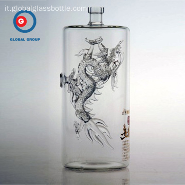 Wuliangye Glass Bottle of Dragon Craft prodotto