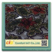 Brillo de alta calidad de la tela de la quemadura para la tela musulmán de las bufandas de Medio Oriente