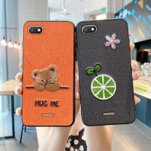 Luxus Telefon Fall Stickerei 3D Mode weich