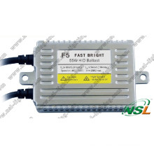 Fast Bright 55W Quick Start HID Xenon Kit, Headlight Ballast F3 F5 F7 35W 55W 70W