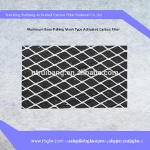 aluminum base active carbon air filter