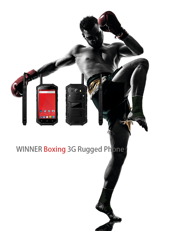 WINNER Boxing 3G Rugged Phone
