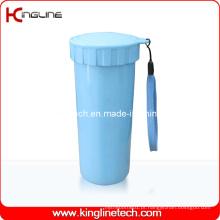 Tampa de camada de camada de plástico de 400ml (KL-5017)