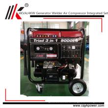 Benzin-Kompressor-Schweißgenerator, Benzin-Schweißgerät-Generator alle Kupferspule