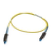 MU-MU Singlemode Simplex Cordon de raccordement à fibre optique / câble, jumper de fibre optique