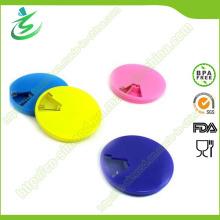 Werbeartikel Pill Box Runde, Wöchentliche Pille Container