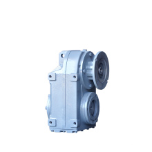 parallel shaft F K R S series helical bevel gearbox reducer straight bevel gearbox